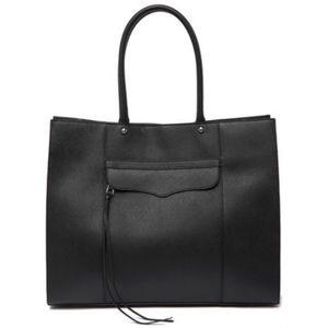 Rebecca Minkoff MAB Genuine Leather Tote Purse Bag